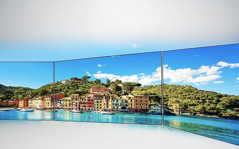 Tivi LG 65UH770T màn hình IPS: độ nét tốt, góc nhìn rộng, mượt mà ngay cả với những khung cảnh chuyển động nhanh