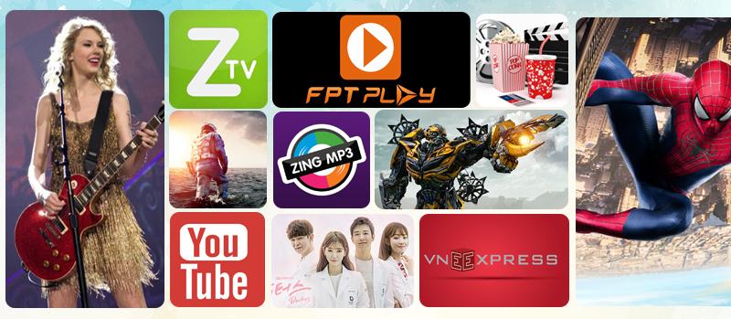 Lướt web, xem phim, nghe nhạc, đọc báo, chơi game... trên Smart tivi LG 65UH770T
