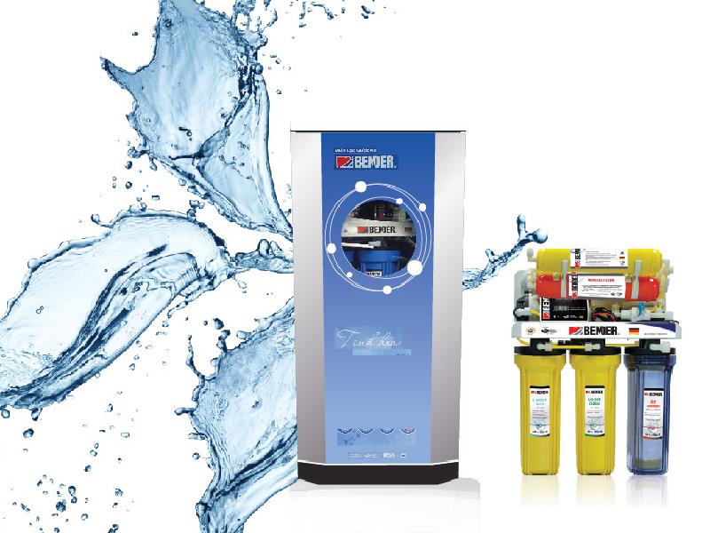 Máy lọc nước Bender 7 lõi hiện đại