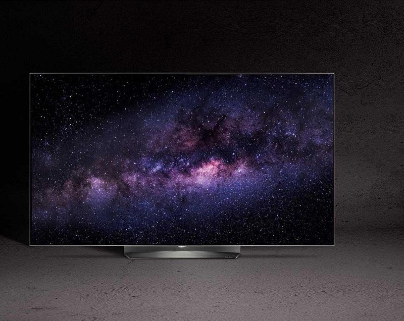 Tivi OLED LG 55B6T - Thiết kế siêu mỏng đầy ấn tượng cùng chân đế bằng kim loại sang trọng