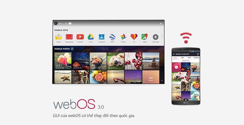 Tivi thông minh hệ điều hành WebOS 3.0