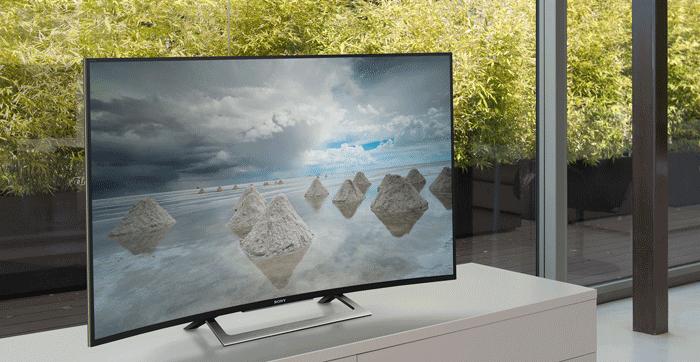 Tivi Sony 50S8000D - Vẻ đẹp của đường cong hoàn hảo