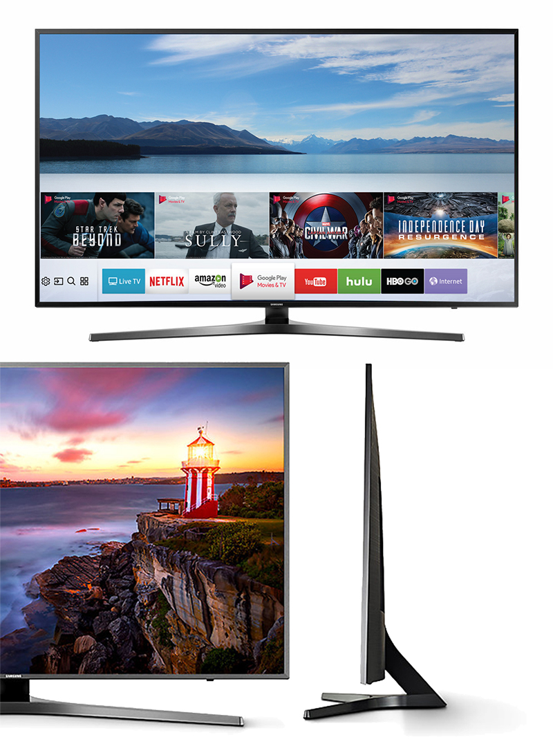 Tivi Samsung UA49MU6400 với thiết kế đẳng cấp, sang trọng