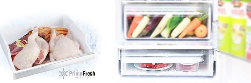 Ngăn đông mềm tiết kiệm thời gian nấu ăn với tủ lạnh NR-BV328GKVN