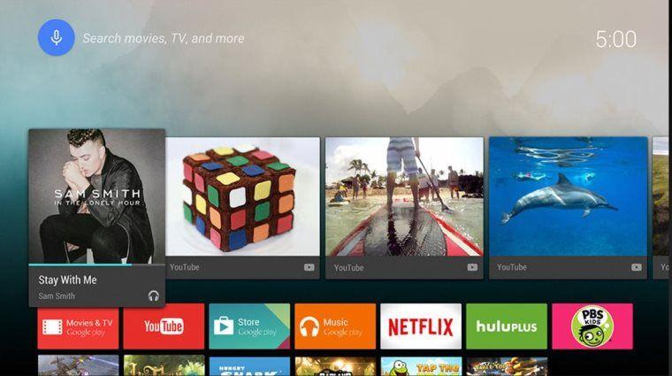 Hệ điều hành Android cùng kho ứng dụng phong phú với tivi Sony 50W800C