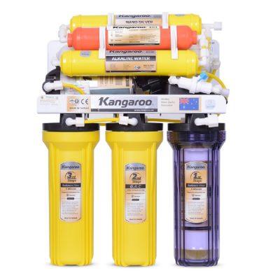 Máy lọc nước kangaroo 7 lõi lọc KG117 không vỏ tủ
