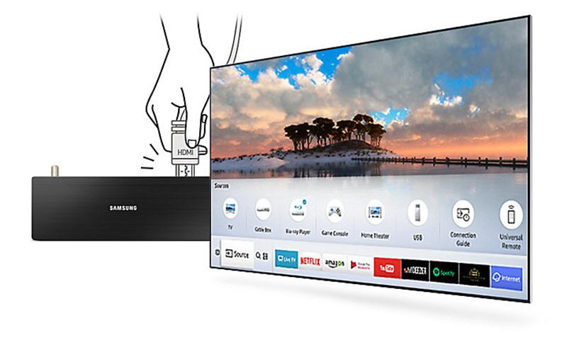 Khả năng tự động nhận diện nhanh chóng với smart tivi 55MU6100