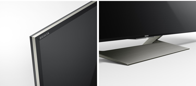 Bề mặt tivi Sony 55X9000E/S hoàn thiện cao cấp