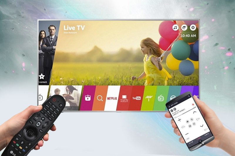 Tivi LG 55 inch này hỗ trợ kết nối rất đa dạng mang đến nhiều tiện ích cho người dùng