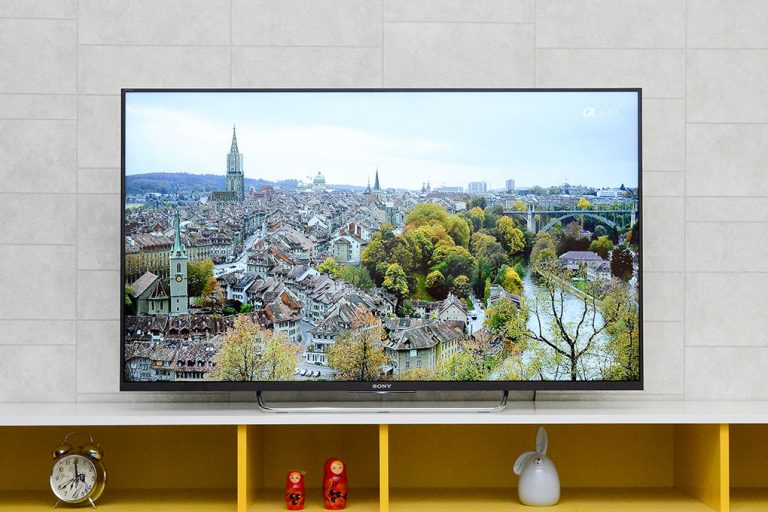 Tivi Sony 49W750E- Thiết kế tinh tế, sang trọng và đẳng cấp