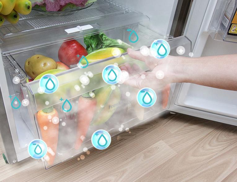 Bảo quản rau củ tốt hơn với tủ lạnh 208 lít GN-L225BS