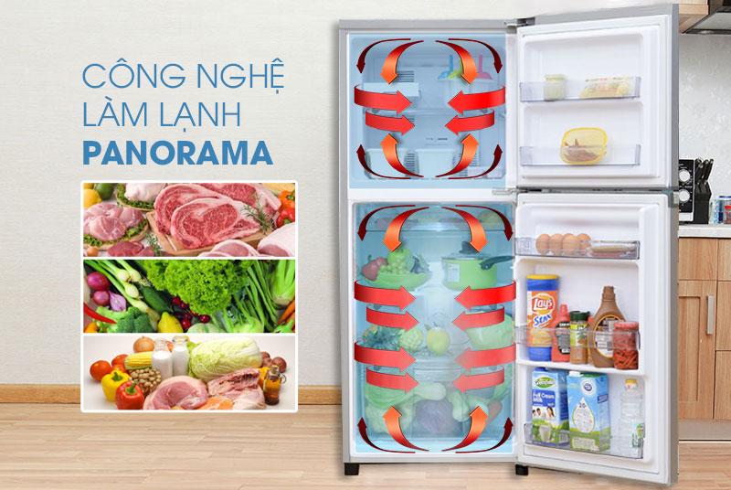 Hệ thống làm lạnh tiên tiến hiện đại với tủ lạnh NR-BD468VSVN