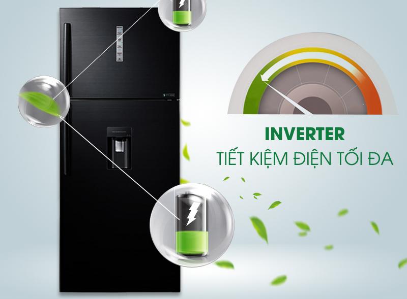 Tiết kiệm điện với công nghệ hiện đại Inverter với tủ lạnh RT58K7100BS/SV