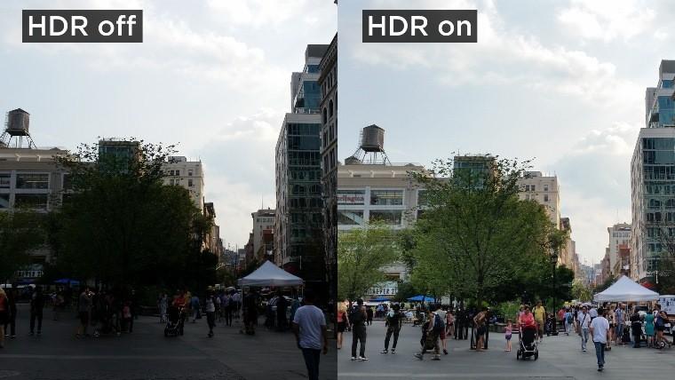 HDR đã mang lại những chuẩn mực mới về hình ảnh và độ sáng