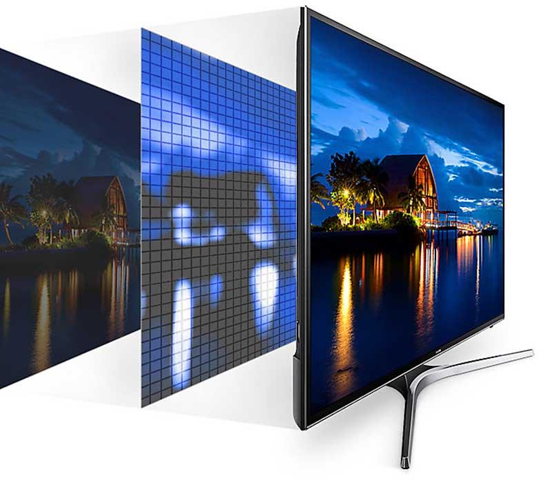 Smart Tivi Samsung 43 inch UA43MU6100 công nghệ UHD Dimming