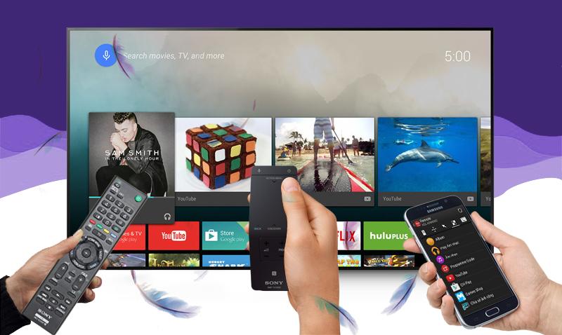 Chia sẻ hình ảnh từ điện thoại lên Tivi Sony KD- 55X9000C bằng mạng không dây