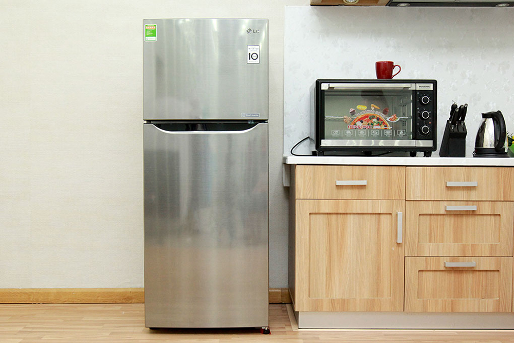 Kiểu dáng thiết kế cá tính, sang trọng và luôn thời thượng của tủ lạnh Inverter LG GN-L205PS