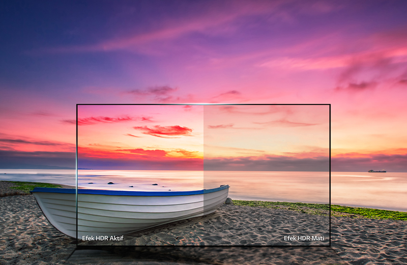 Công nghệ HDR Pro mang lại hình ảnh và màu sắc chân thực có tại Smart Tivi LG 55UJ652T