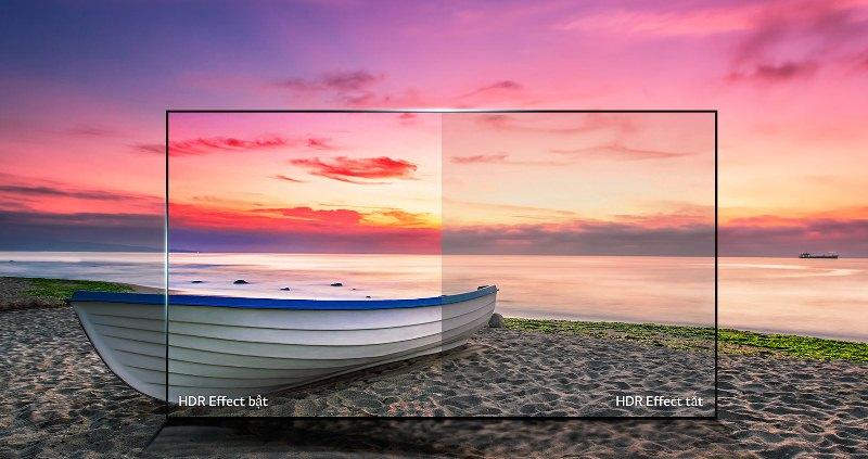 Smart Tivi LG 55UJ632T sở hữu công nghệ hình ảnh HDR tiên tiến