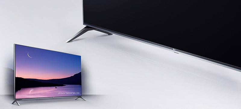 Smart tivi LG 4K 55 inch 55UJ750T với thiết kế thanh lịch, sang trọng và tinh tế