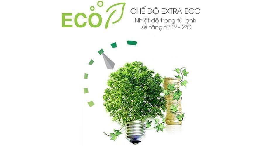 Cơ chế Eco Extra tiện lợi và tiên tiến với tủ lạnh X251E-SL