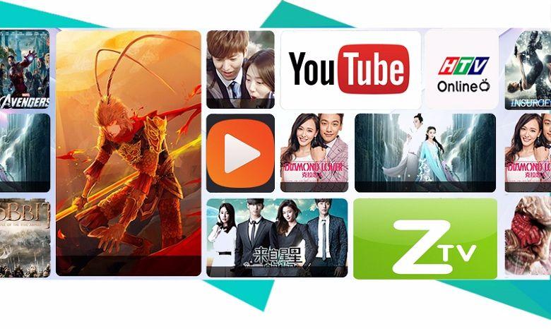 Đa dạng về hình thức giải trí thông minh với tivi Sony (nguồn ảnh: internet)