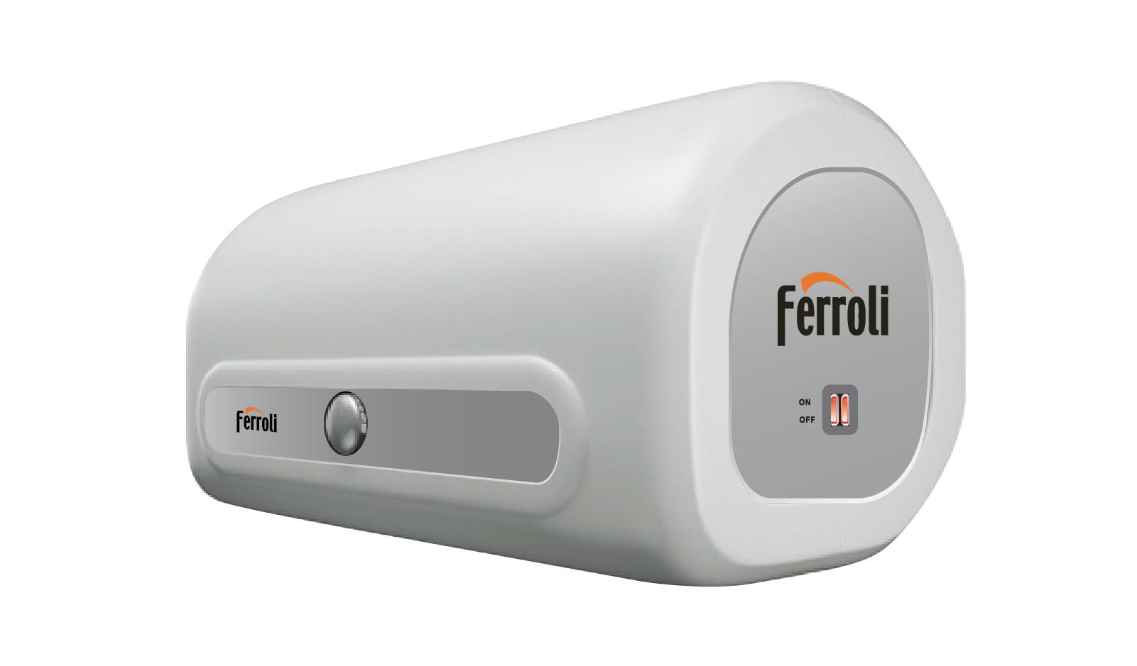 Thiết kế đẹp, dung tích ấn tượng với bình tắm nóng lạnh FERROLI QQSI30 30L
