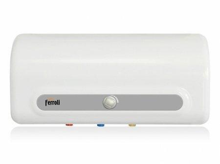 Kiểu dáng gọn gàng phù hợp với nhiều không gian của bình nóng lạnh Ferroli QQME30 30 lít