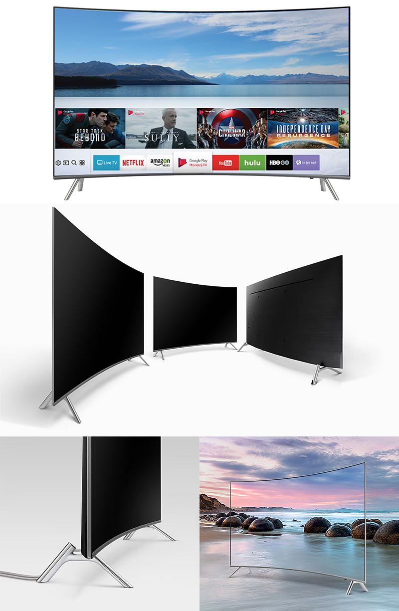 Thiết kế hiện đại, mang lại sự đẳng cấp sang trọng của tivi Samsung cong 49 inch UA49MU8000