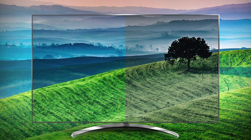 Chất lượng hiển thị hoàn hảo với tivi LG 65 inch 65SJ850