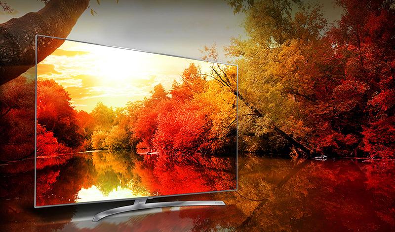 Tivi LG 65 inch 65SJ850 mang đến màu sắc hiển thị tự nhiên với dải màu phong phú