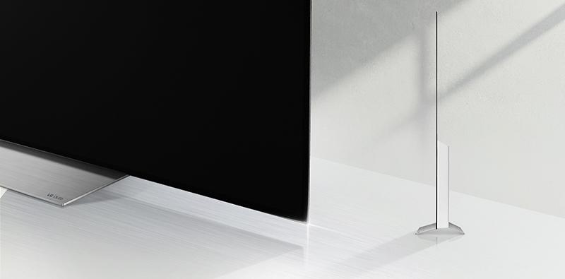Thiết kế ấn tượng thu hút với tivi LG 55C7T