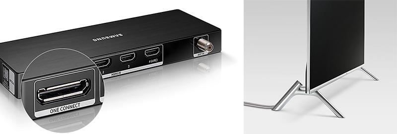 Hệ thống kết nối đơn giản với tivi Samsung 65 inch 65MU7000