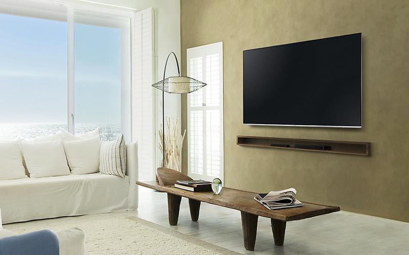 Smart TV UA75MU7000 sở hữu thiết kế hiện đại đẳng cấp