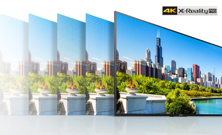 Trải nghiệm độ phân giải 4K với tivi 65 inch 65X8500