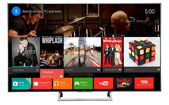 Kho giải trí rộng lớn đang chờ bạn khám phá trên tivi Sony 65X8000E 4K