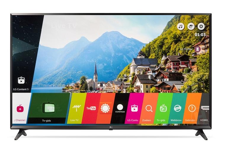 Tích hợp nhiều ứng dụng thông minh với hệ điều hành WebOS 3.5 của tivi LG 43UJ633T