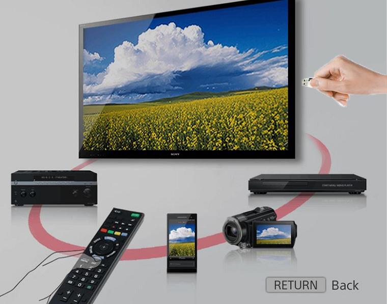 Khả năng chia sẻ và kết nối nhanh chóng và đơn giản nhất của tivi Sony 48 inch