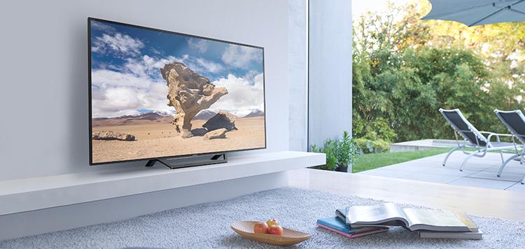 Kết hợp hài hòa với mọi không gian với tivi Sony 48 inch W650D