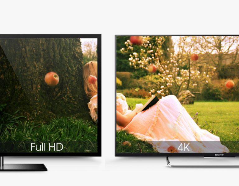 Độ phân giải có độ sắc nét gấp 4 lần so với độ phân giải full HD