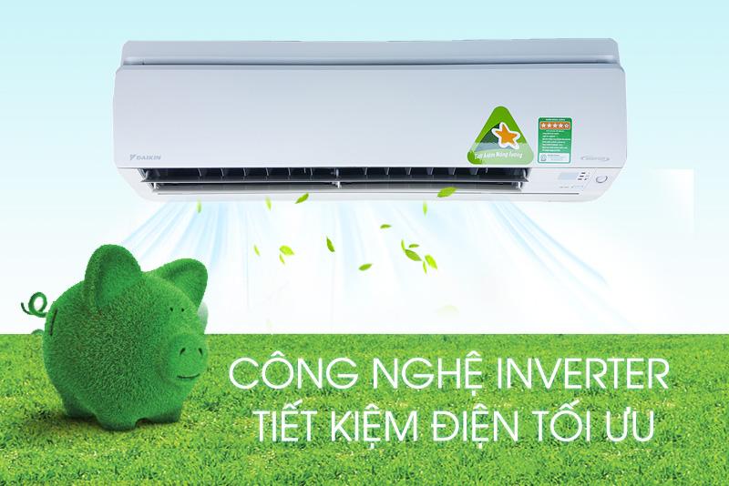Khả năng tiết kiệm điện năng hữu ích nhờ công nghệ Inverter