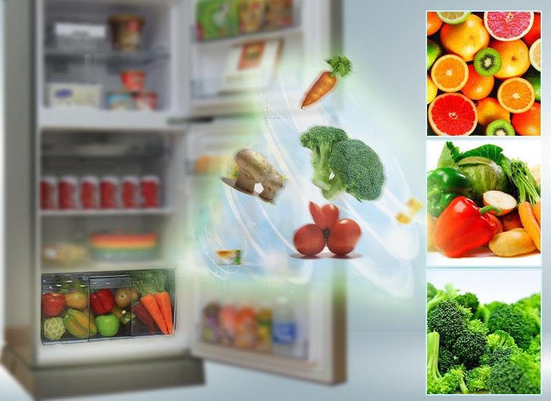Ngăn đựng rau củ thông minh của tủ lạnh Panasonic NR-BA178VSVN