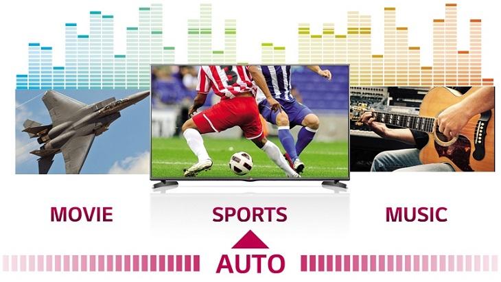 Công nghệ âm thanh của tivi LG Smart Sound Mode
