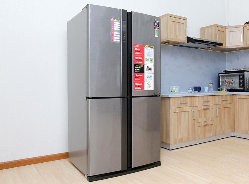 Chiếc tủ lạnh bền bỉ cùng thời gian với tủ lạnh Sharp SJ-FX680V-ST