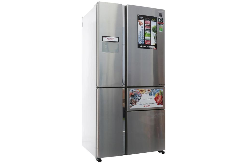 Tủ lạnh Sharp inverter 758 lít SJ-F5X76VM-SL - Sự lựa chọn hoàn hảo