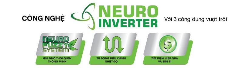 Neuro Inverter cho khả năng tiết kiệm điện tối ưu