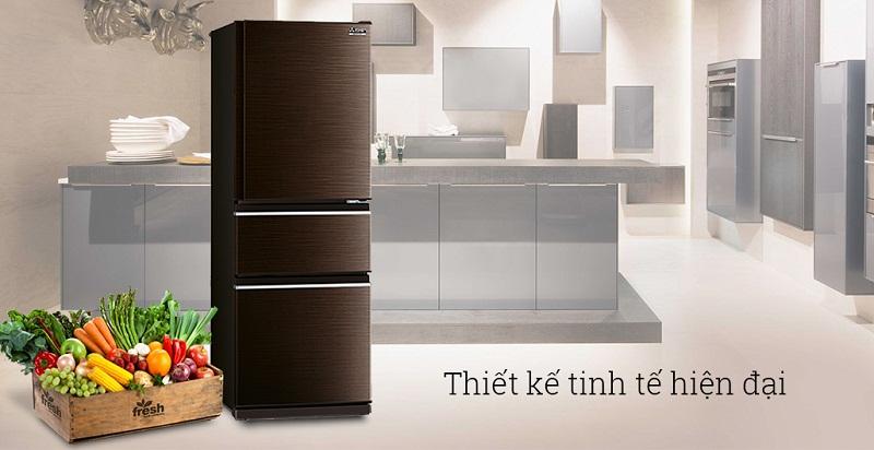 Tủ lạnh Mitsubishi Electric MR-CX46EJ-BRW-V có thiết kế hiện đại