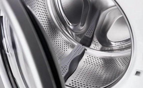 Điểm cộng cho thiết kế thông minh của lồng giặt