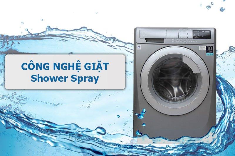 Công nghệ giặt mang đến hiệu quả tối đa