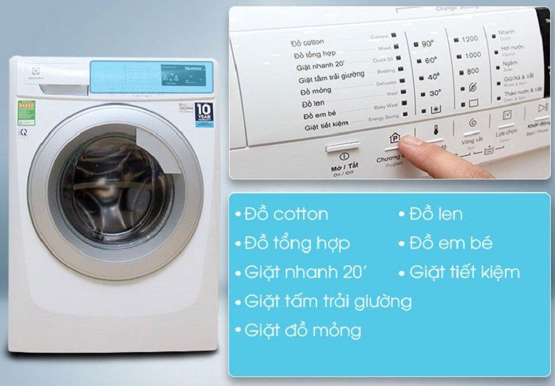 Người dùng có thêm nhiều sự lựa chọn khi giặt đồ vào thời gian tùy ý